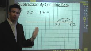 Subtraction - Part 1 - Counting Back Using A Number Line