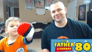 Father and Sonday!   Opening Pokemon Cards with Lukas #80
