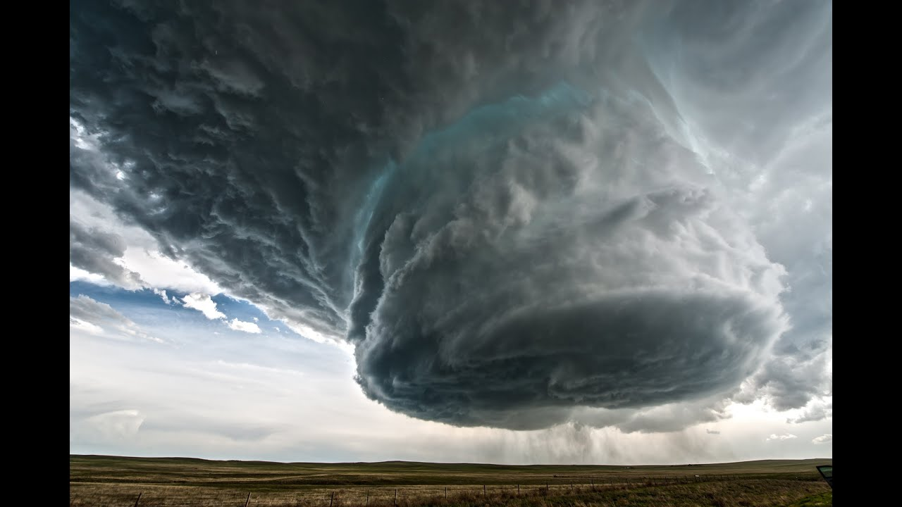 Video of supercell over Wyoming on May 18