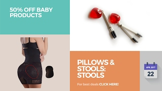 Pillows & Stools: Stools 50% Off Baby Products