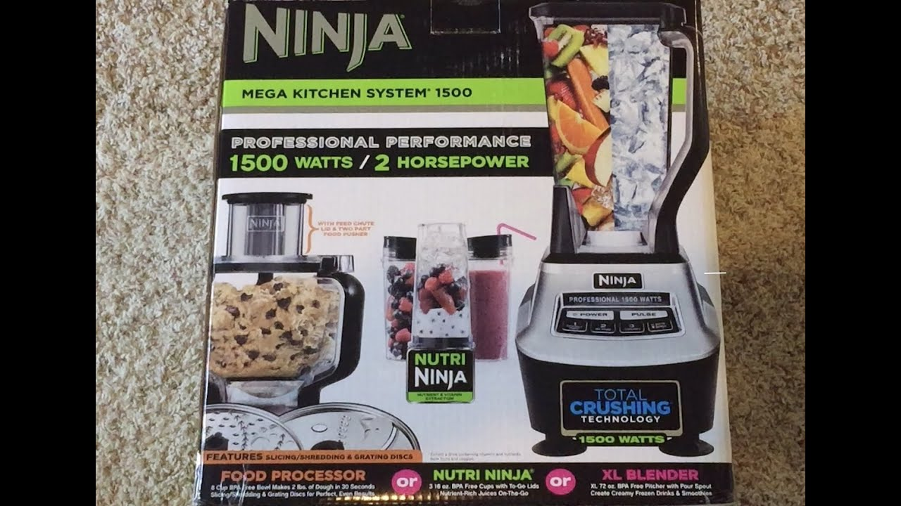 Ninja Professional 1500 Watts Unboxing