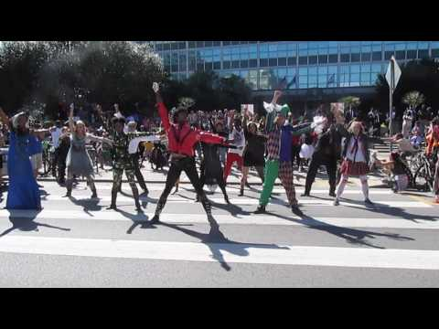 Flashmob New Orleans - 5th Annual City Of New Orleans NORDC/FITNOLA Thriller Flash Mob 2016