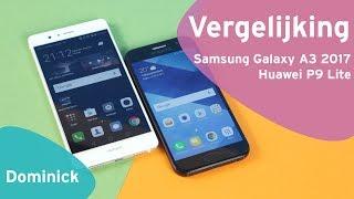 Samsung Galaxy A3 2017 vs Huawei P9 Lite review (Dutch)