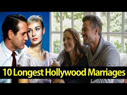 Top 10 Longest Hollywood Marriages - AllTimeTop
