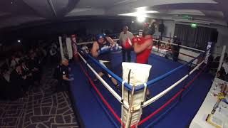 Ultra White Collar Boxing | Nottingham | Nick Seagull VS Aaron May