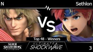 USW 3 - N (Ken, DK) vs FX | Sethlon (Roy) Top 48 - Winners - SSBU