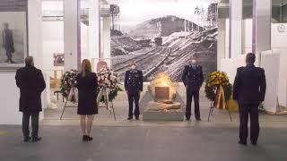 Kranzniederlegung zum Gedenktag Befreiung KZ-Außenlager Dachau / Kaufering