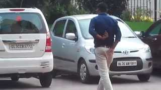 Fake Car Scratches in Delhi! - A positive PRANK for Awareness gone VIRAL