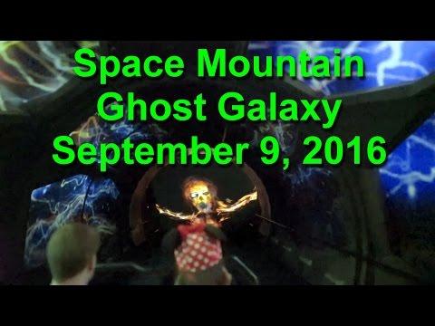 Space Mountain Ghost Galaxy Disneyland  2016 Ultra Low Light On Ride POV
