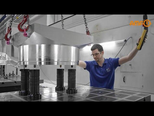 Modulare Nullpunktspanntechnik in der Praxis - AMF zu Gast bei MT Technologies