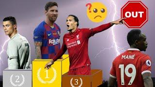HONTEUX ! SADIO MANÉ OUBLIÉ ? MESSI, RONALDO, VAN DIJK FINALISTES JOUEURS DE L'ANNÉE UEFA 2019 !