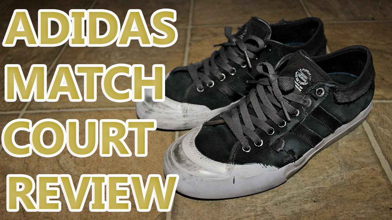 ADIDAS MATCH COURT SHOE REVIEW WITH