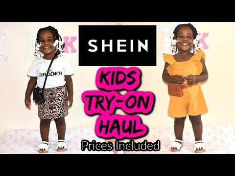 SHEIN Kids Try-On Haul! | SHEIN Review | Saundra King