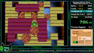 [WR] Frogger: Helmet Chaos (Quest One Any%) in 57:23 [Speedrun]