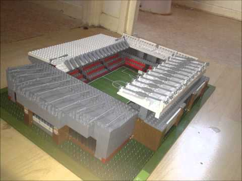 sports stars football 4 in 1 stadium mega set anfield - YouTube