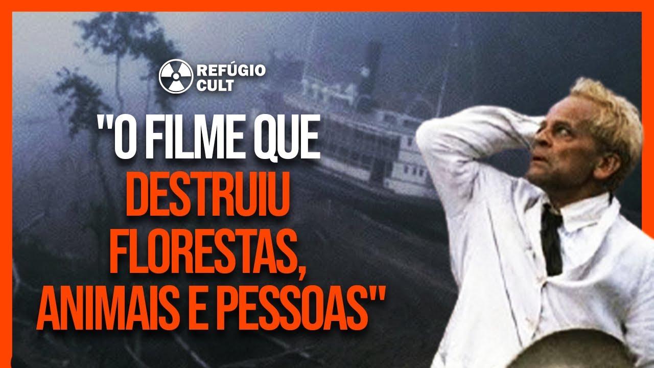 FITZCARRALDO - A VERDADE SOMBRIA (E BRUTAL) POR TRÁS DO FILME