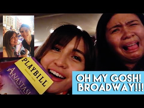 Vlog #12: Lady Liberty 🗽 + BROADWAY (ft. the ANASTASIA cast 😍)