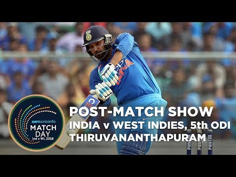 India v West Indies - LIVE STREAM, 5th ODI, Post-show