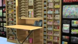Clickhere2shop_workbox  Scrapbooking And Office Desk Armoire