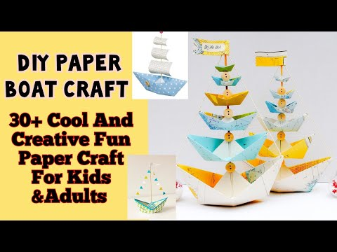 cool-&creative-fun-paper-boat-ideas|-diy-sail-boat|paper-craft-for-kids-&adults