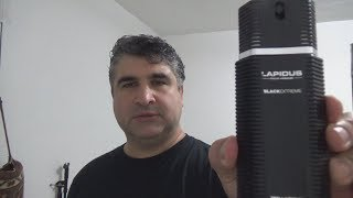 Lapidus Black Extreme (2012) by Ted Lapidus Cologne / Fragrance Review