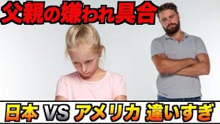 父親の嫌われ具合、日本とアメリカで違いすぎる#Shorts