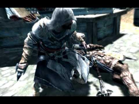 Skyrim Assassin's Creed Brotherhood/Revelations Armor Montage