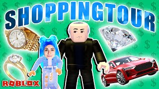 XXL SHOPPING-TOUR MIT BABY DANIA! Onkel Claudio kauft alles! [Roblox Deutsch]