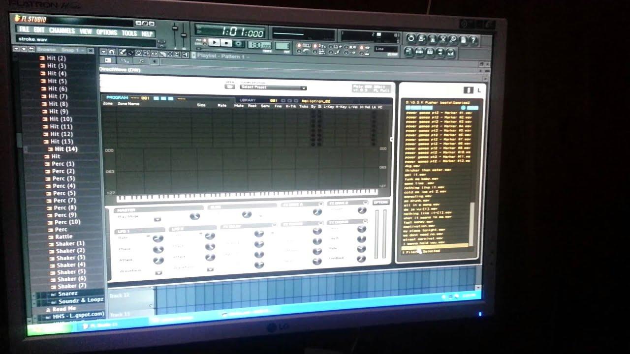 fl studio 11 direct wave