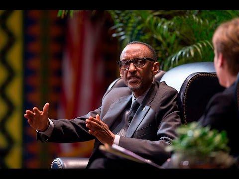 President Kagame visits Wharton Business School, University of Pennsylvania- 30 September 2015