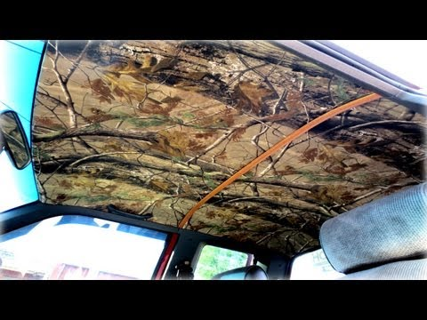 HOW-TO: Custom Camo Headliner