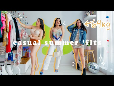 Casual summer outfits 2020 | 64kg 160cm | Day to Night outfits from YouTube · Duration:  15 minutes 1 seconds
