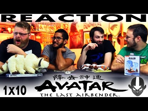 "Avatar: The Last Airbender 1x10 REACTION!! ""Jet"""