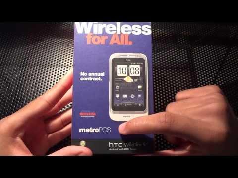 Unboxing: HTC Wildfire S (Metro PCS)