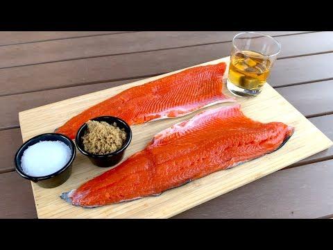Easy Smoked Salmon Recipe: Double Whiskey Maple!