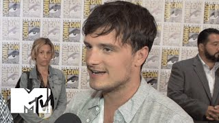 Josh Hutcherson Reveals Who Cried On The Last Day Of 'Hunger Games' | Comic-Con 2015