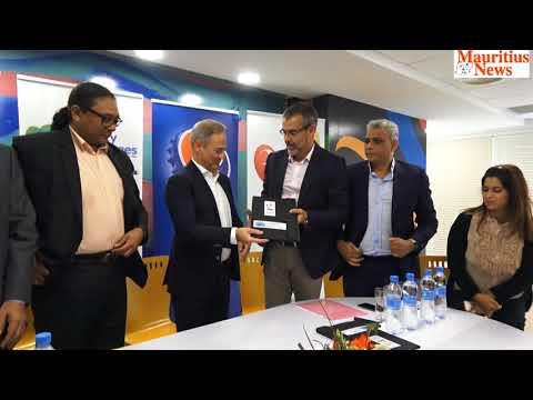 Mauritius News: COJI 2019 signe son premier sponsor