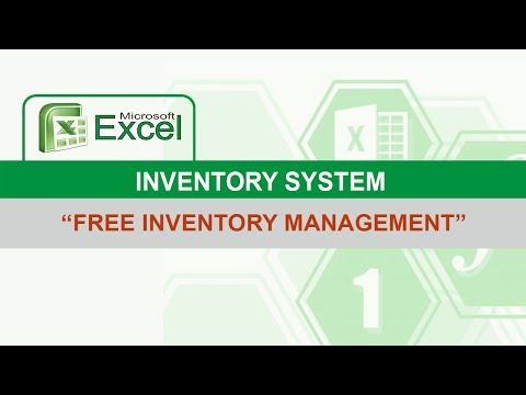 Excel Inventory System (FREE DOWNLOAD)
