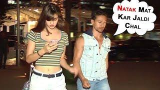 Tiger Shroff's Big FIGHT With Girlfriend Disha Patani Gets CAUGHT On Camera | Bollywood 2018