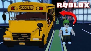 ROBLOX JAILBREAK SCHOOL BUS UPDATE