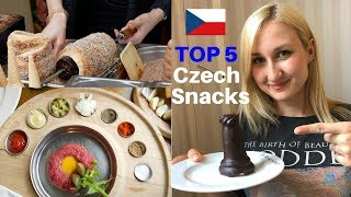 Top 5 MUST TRY CZECH Snacks - 2 are Extreme ! 4K