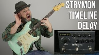 Guitar Gear - Strymon Timeline Delay Unit - Guitar Effects Pedals
