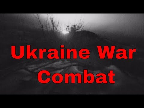 Combat erupts in the trenches of the Ukraine War near Donetsk