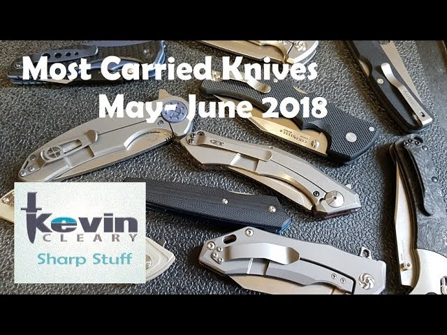 Most Carried May June 2018