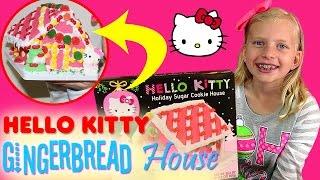 Hello Kitty Gingerbread House Christmas Fun