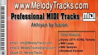 Akhiyan by fuzon MIDI - www.MelodyTracks.com