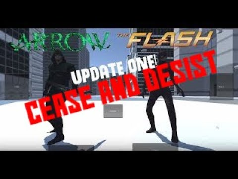 Arrow and The Flash - Fan Made Video Game (Update 1)