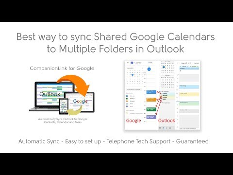 Sync Outlook with Google - Easy and Automatic