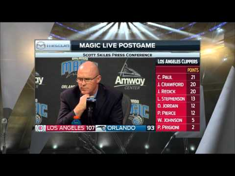 Scott Skiles -- Orlando Magic vs. L.A. Clippers postgame 2/5/16