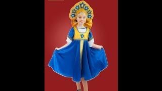 Новогодние костюмы для детей - костюмы для девочек на Новый Год(Новогодние костюмы для девочек в этом году имеют уклон в русский стиль. Во-первых мода такая, особенно в..., 2014-12-07T07:34:01.000Z)